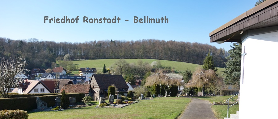 Friedhof in Ranstadt - Bellmuth