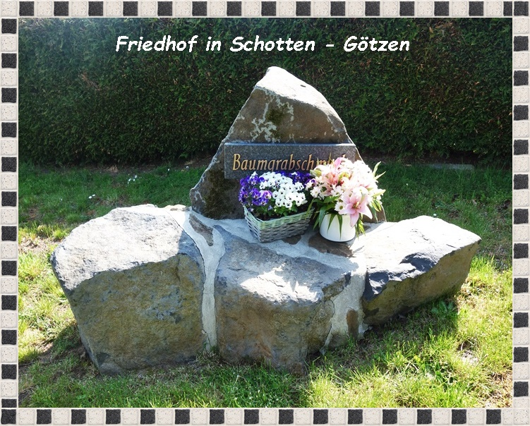 Friedhof in Schotten Götzen