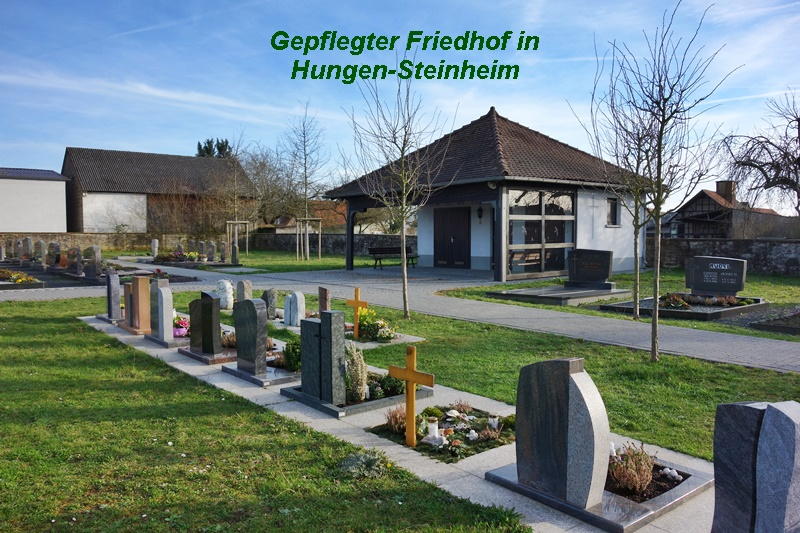 Friedhof in Hungen-Rodheim