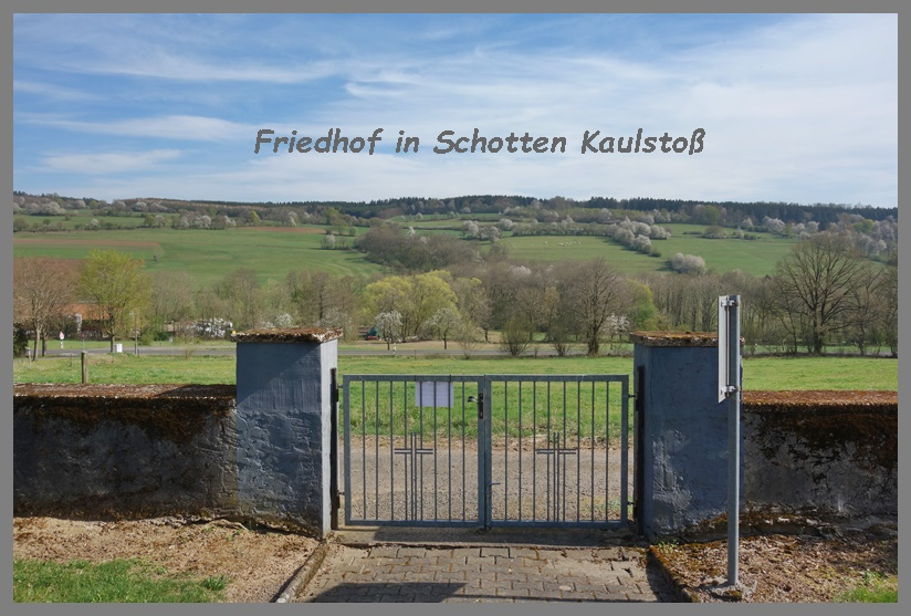 Friedhof in Schotten Kaulstoß