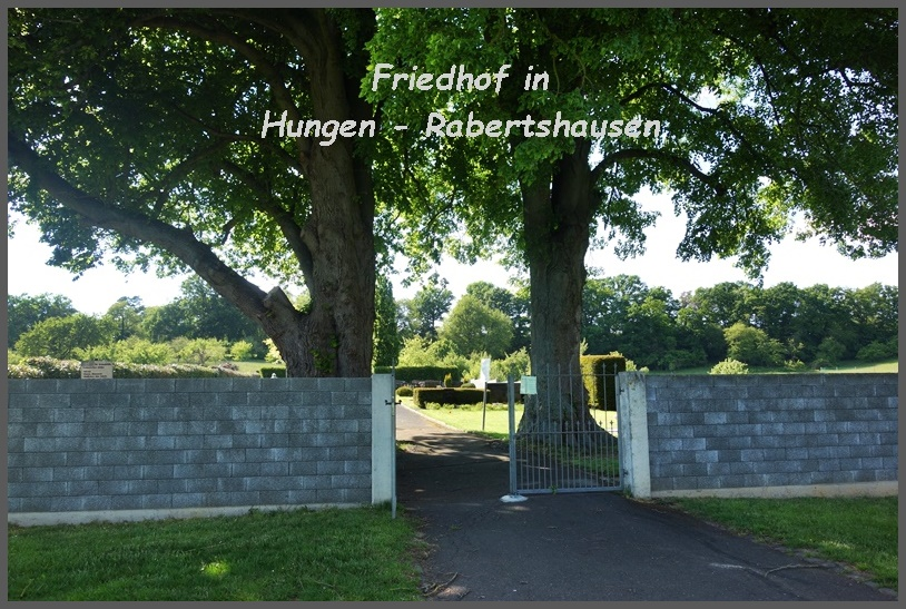 Friedhof in Hungen Rabertshausen