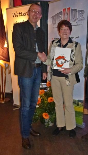 Mundartwettbewerb mit Landrat Joachim Arnold
